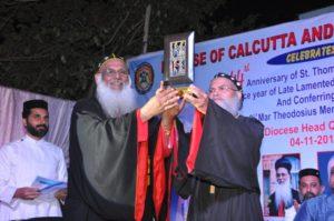 MAR THEODOSIUS AWARD CONFERRED UPON PADMA SHRI DR. PRAKASH AMTE-6